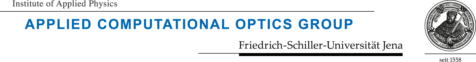 Logo Applied Computational Optics Group